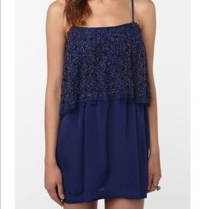 Urban Outfitters Silence + Noise Beaded Dress